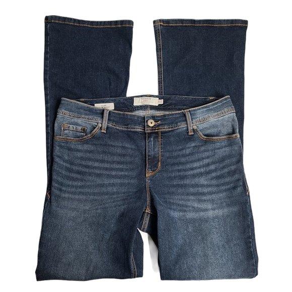 Torrid Luxe Slim Boot Cut Jeans 14